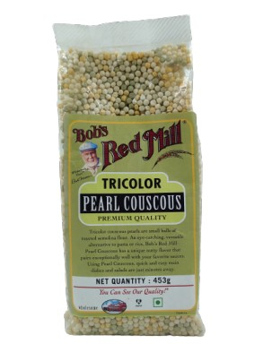 Tricolour Pearl Couscous Bob S Red Mill 453gm Nature S Soul